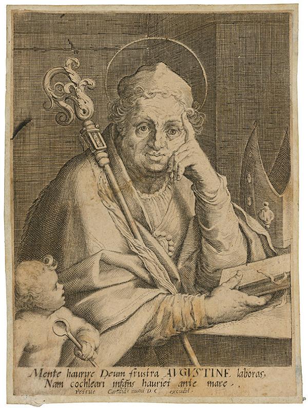 Peter Candid - Svätý Augustín