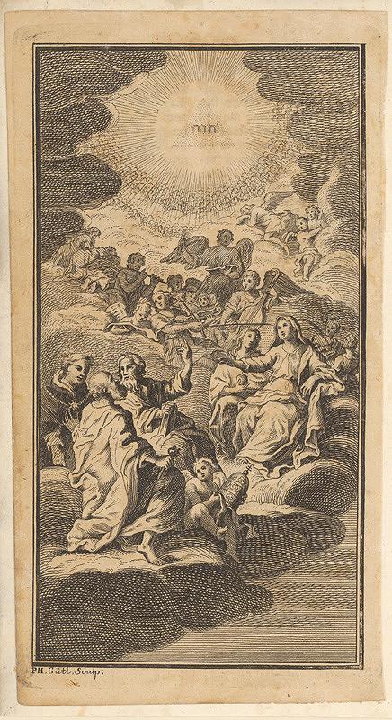 Philipp Jacob Gütl – Madona s anjelmi a svätými