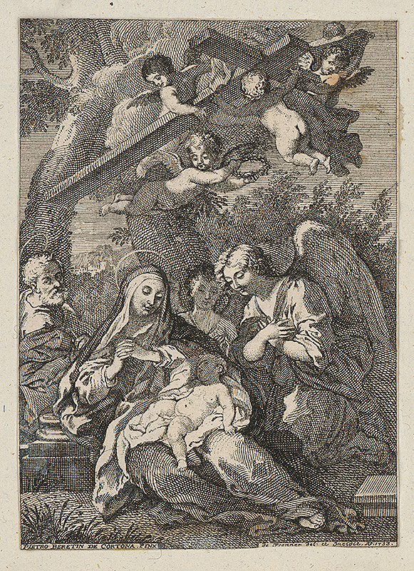 Anton Jozef Prenner, Pietro da Cortona – Klaňanie anjelov