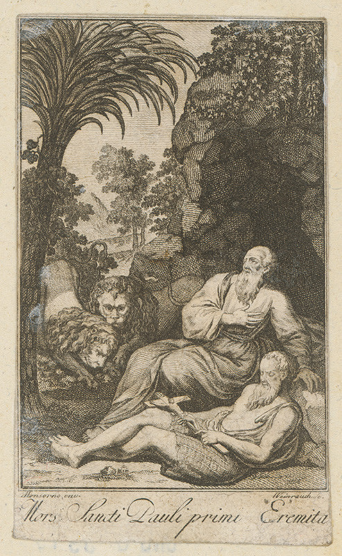 Jacob von Sandrart, Johann Caspar Weinrauch - Svätý Pavol