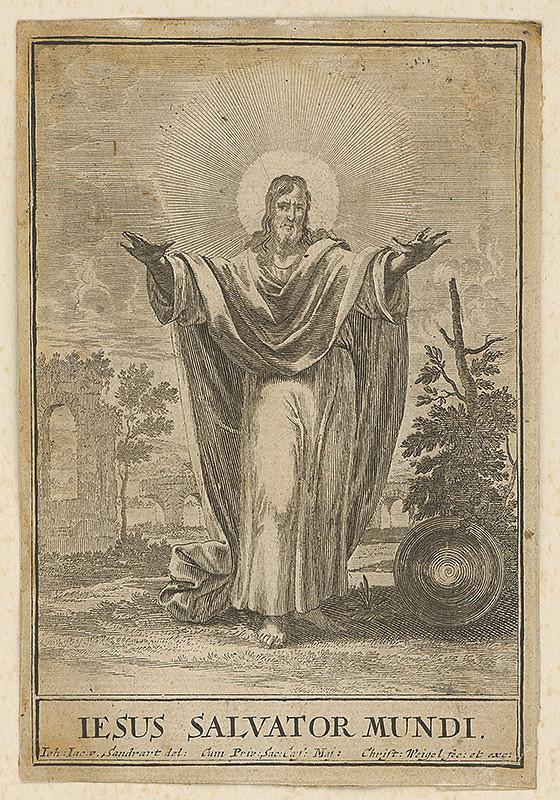Christoph Weigel st., Jacob von Sandrart – Kristus Vykupiteľ