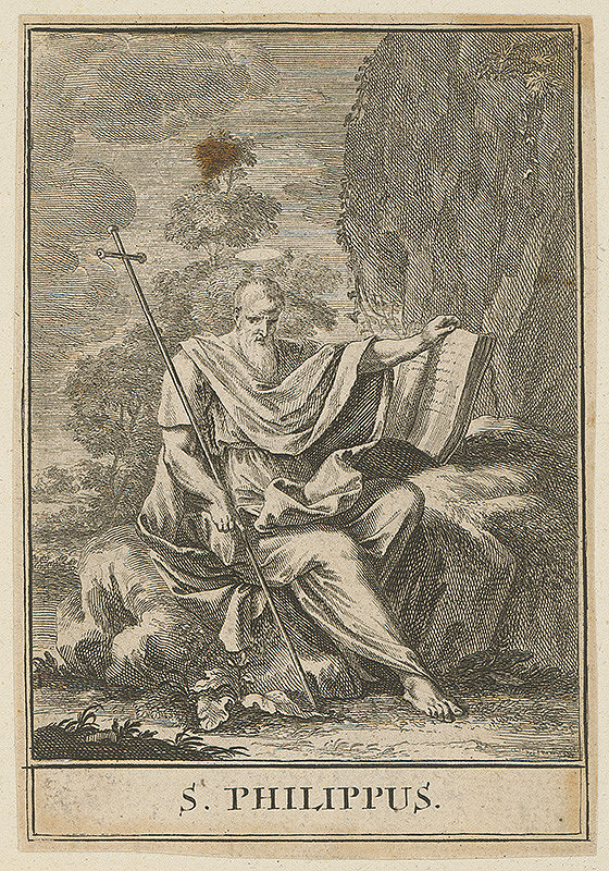 Christoph Weigel st., Jacob von Sandrart - Sv.Filip