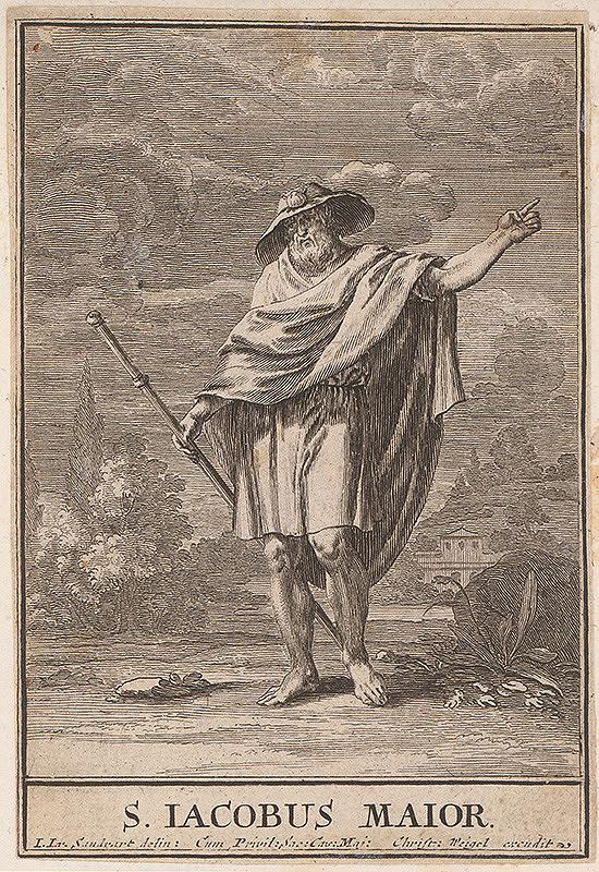 Christoph Weigel st., Jacob von Sandrart - Sv.Jakub