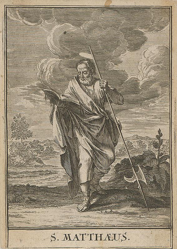 Christoph Weigel st., Jacob von Sandrart - Sv.Matúš