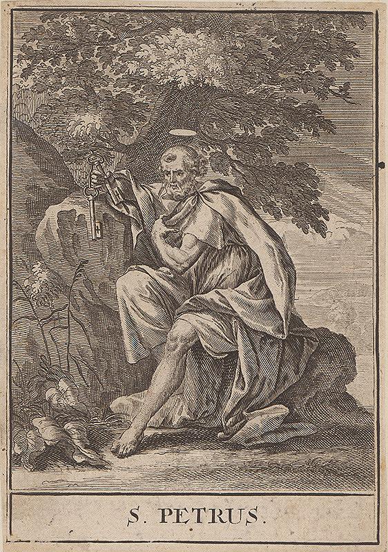 Christoph Weigel st., Jacob von Sandrart – Sv.Peter