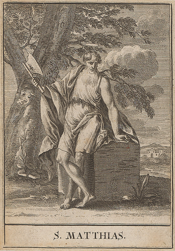 Christoph Weigel st. – Sv.Matúš