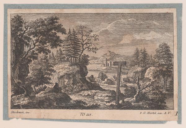 Johann Georg Hertel, Johann Adam Stockmann – Krajina