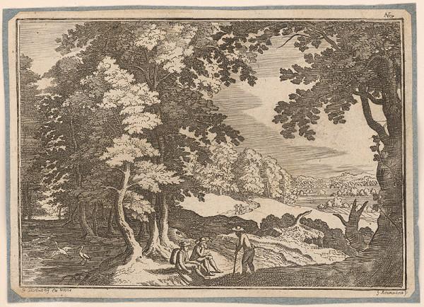 Georg Borowsky, G. Adamscheck – Krajina s pocestnými