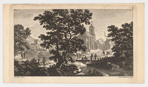 James Roberts, Pérelle family – Krajina s kostolom