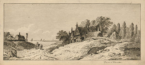 Franz Edmund Weirotter – Prímorská krajina