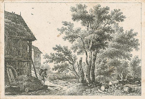 Johann Josef Schindler – Starý mlyn