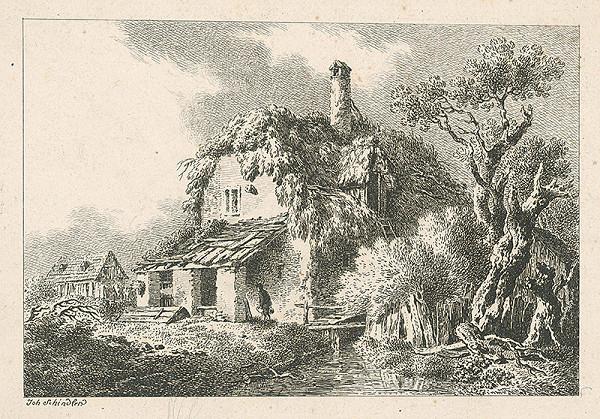 Johann Josef Schindler - Dom pri potoku