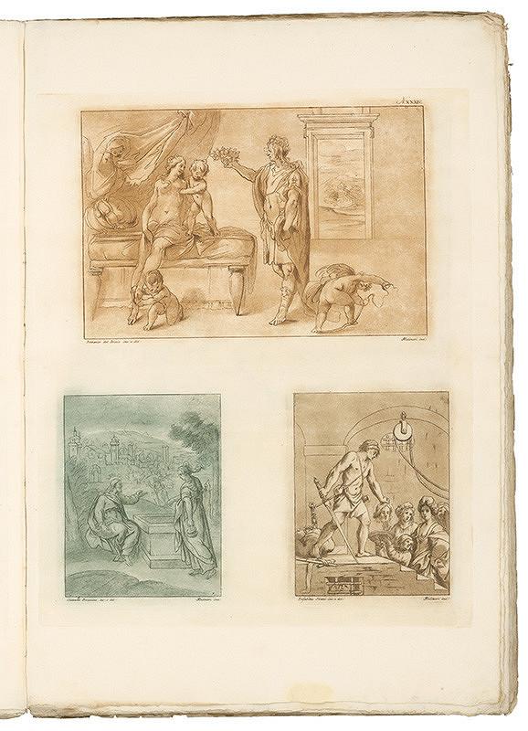 Stefano Mulinari, Camillo Procaccini, Elisabetta Sirani, Domenico Ambrogi - Tabula XXXIV.