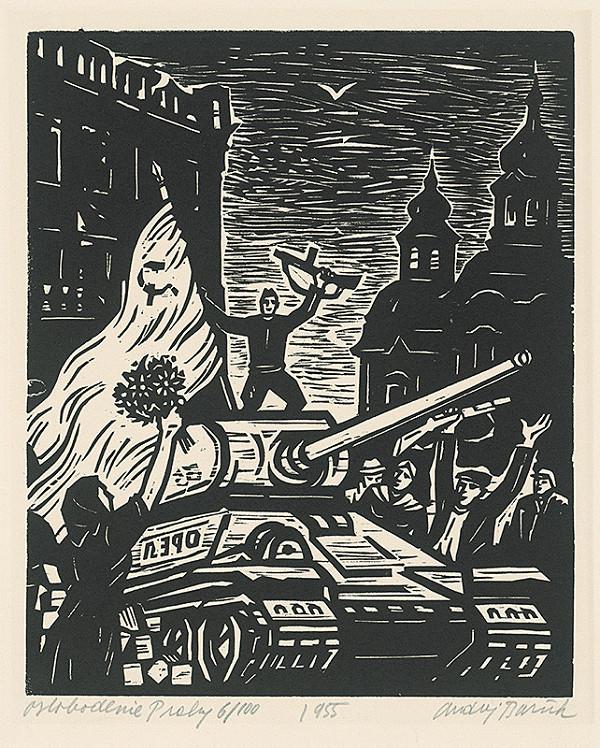 Andrej Barčík - Oslobodenie Prahy