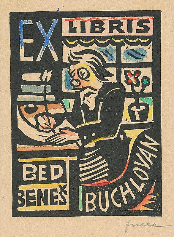 Ľudovít Fulla – Ex libris Bed.Beneš Buchlovan