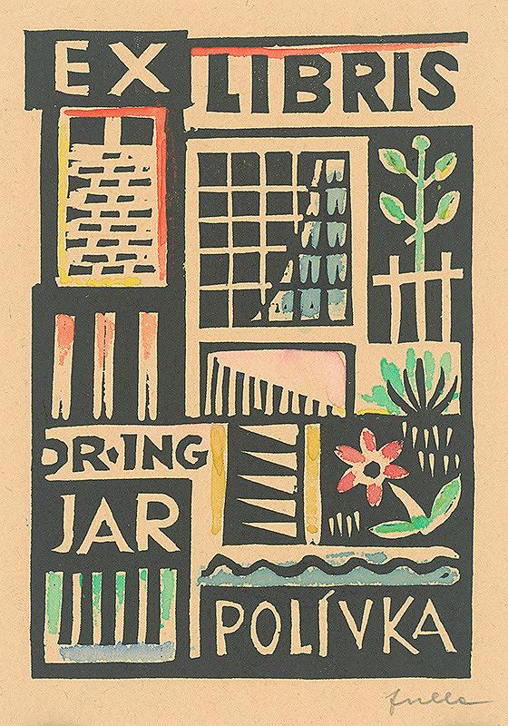 Ľudovít Fulla - Ex libris dr.ing-Jar.Polívka