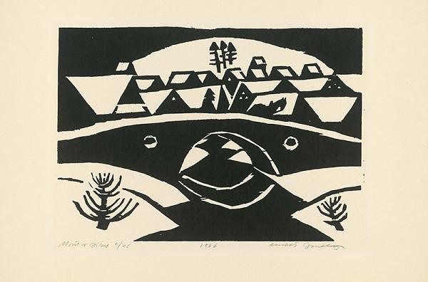 Ernest Zmeták - Motív v zime
