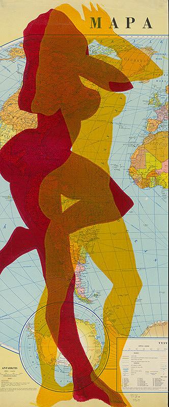 Stanislav Filko – Zo série Mapa sveta I. (Ženy)