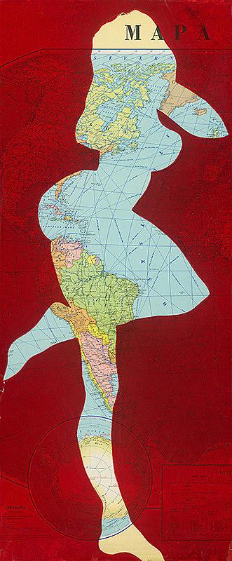 Stanislav Filko – Zo série Mapa sveta II. (Ženy)
