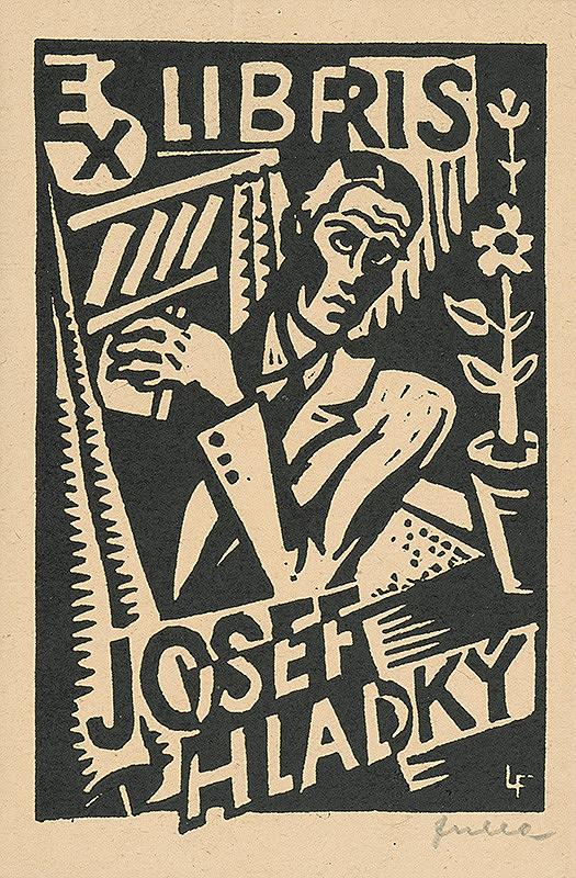 Ľudovít Fulla – Ex libris Josef Hladký I.