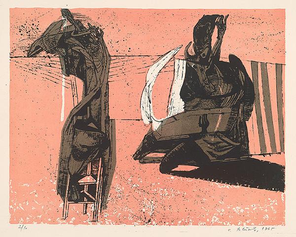 Vincent Hložník - 13 - List z cyklu Veselý zvierací svet