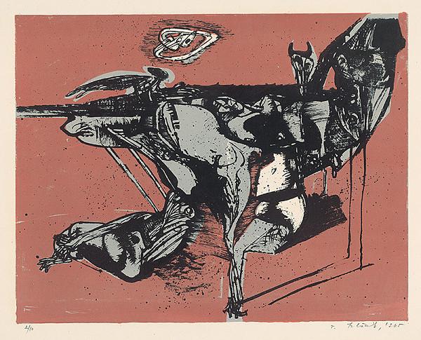 Vincent Hložník – 16 - List z cyklu Veselý zvierací svet