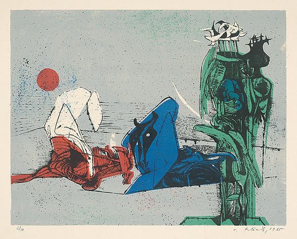 Vincent Hložník – 19 - List z cyklu Veselý zvierací svet