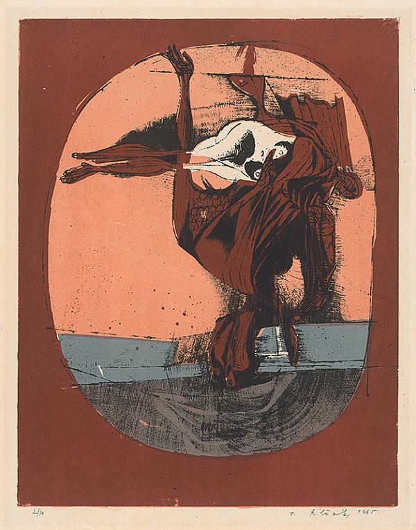 Vincent Hložník - 20 - List z cyklu Veselý zvierací svet