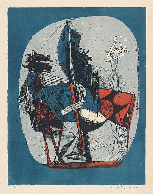 Vincent Hložník - 22 - List z cyklu Veselý zvierací svet
