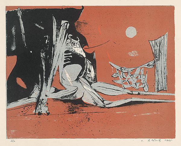 Vincent Hložník - 27 - List z cyklu Veselý zvierací svet