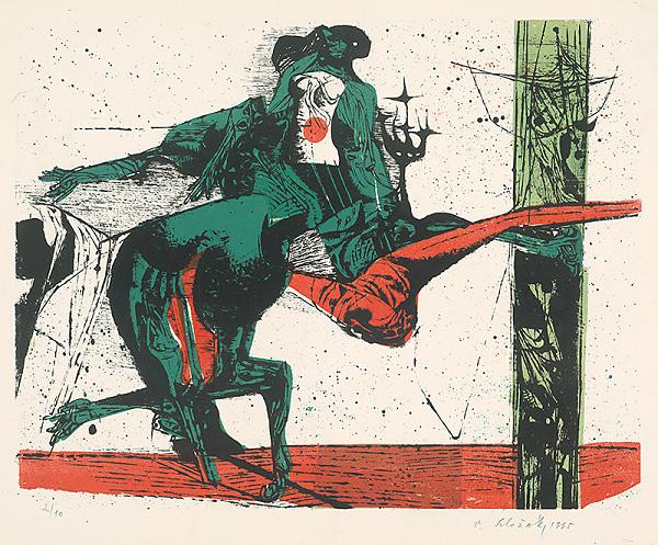 Vincent Hložník – 30 - List z cyklu Veselý zvierací svet