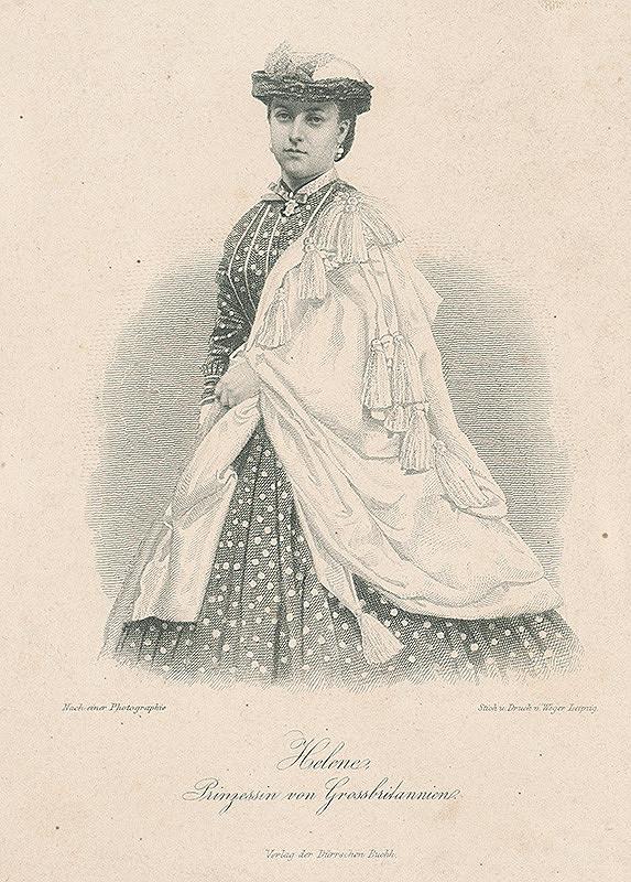 August Weger – Helene Prinzessin von Grossbritanien