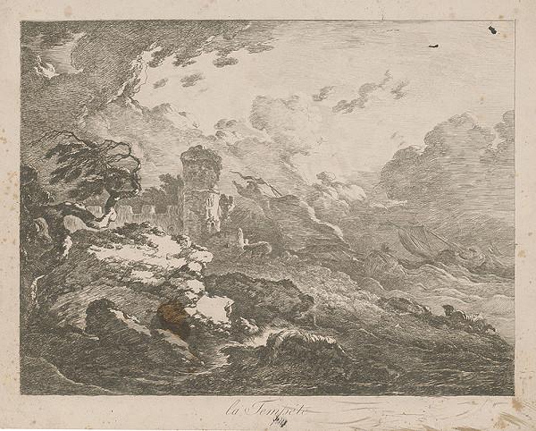 Francúzsky autor z 18. storočia – Búrka