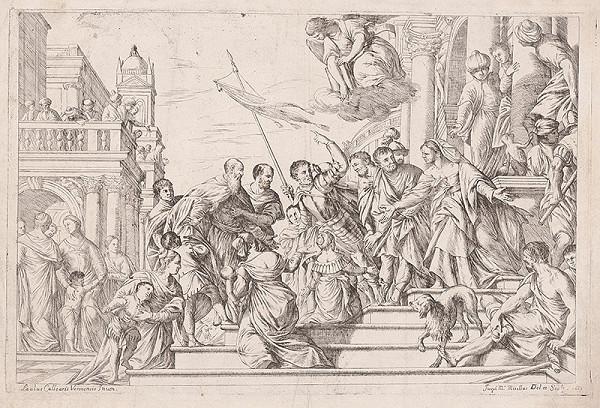 Giuseppe Maria Mitelli, Paolo Veronese – Príchod Márie do chrámu