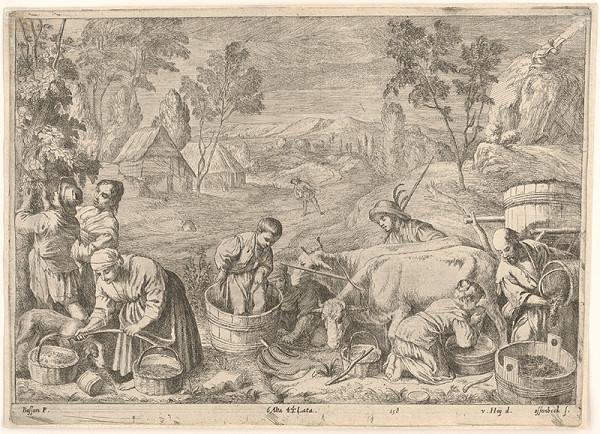 Jan van Ossenbeck, Nikolaus van Hoy - Jeseň