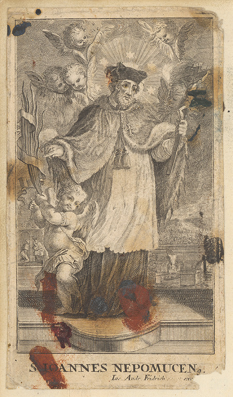 Jacob Andreas Fridrich – Sv.Ján Nepomucký