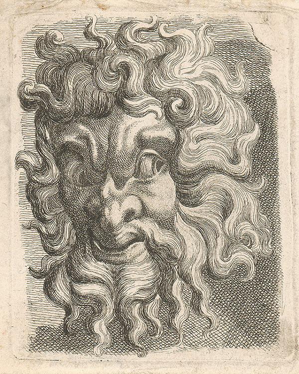 Západoeurópsky autor z 18. storočia – Maska II.