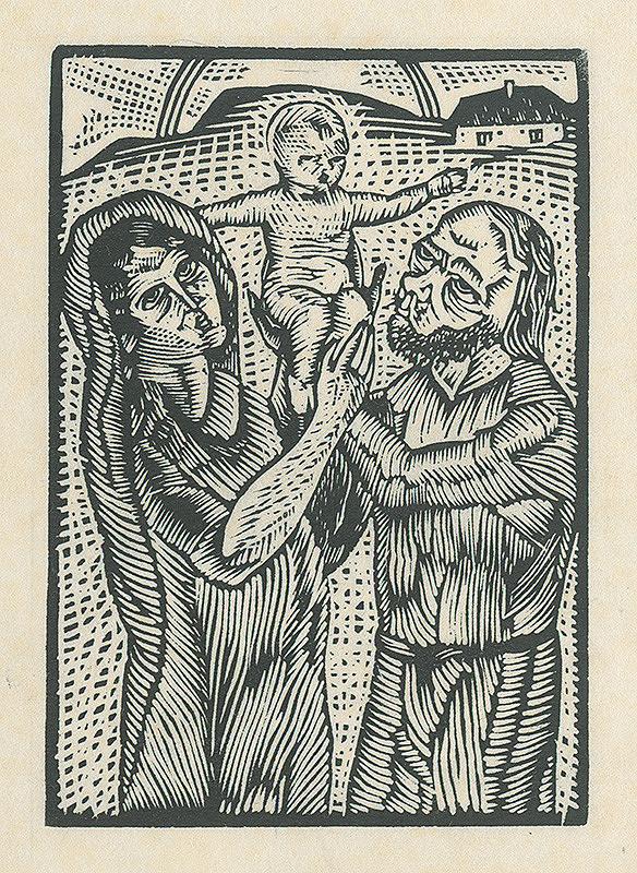 Mikuláš Galanda – Svätá rodina