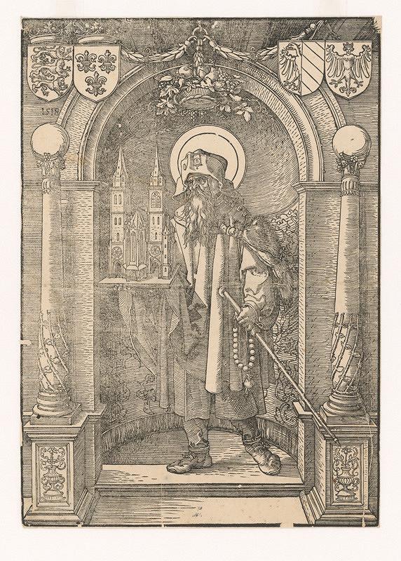 Albrecht Dürer, Neznámy umelec (okruh Albrechta Dürera) – Svätý Sebald ako patrón kostola