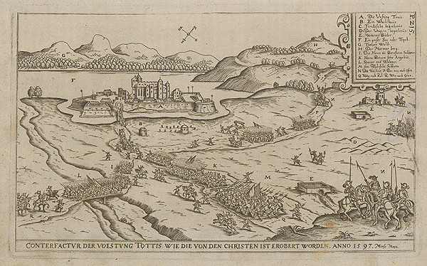 Paul Fürst, Lucas Schnitzer - Pevnosť TOTTIS znovudobytá kresťanmi roku 1597