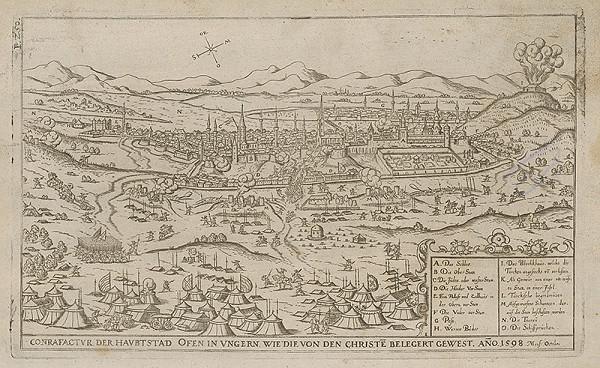 Paul Fürst, Lucas Schnitzer – Hlavné mesto Budín v októbri 1598