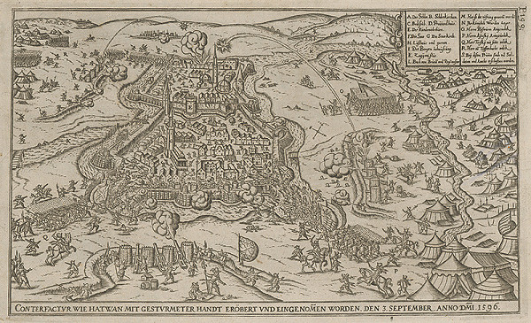 Paul Fürst, Lucas Schnitzer – Mesto Hatvan dobyté 3.septembra 1596