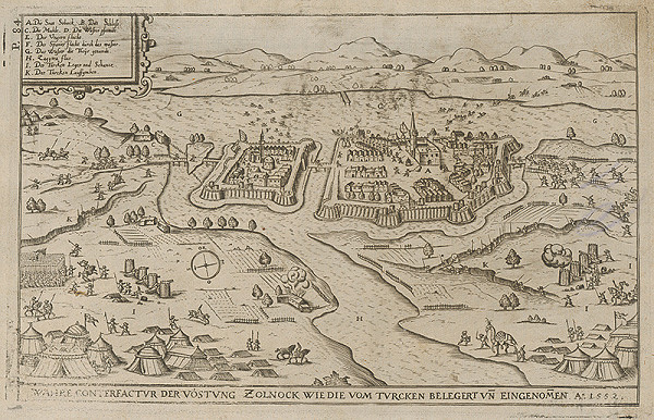 Paul Fürst, Lucas Schnitzer – Mesto Szolnok obliehané Turkami roku 1552
