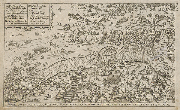 Paul Fürst, Lucas Schnitzer - Pevnosť Raab roku 1594