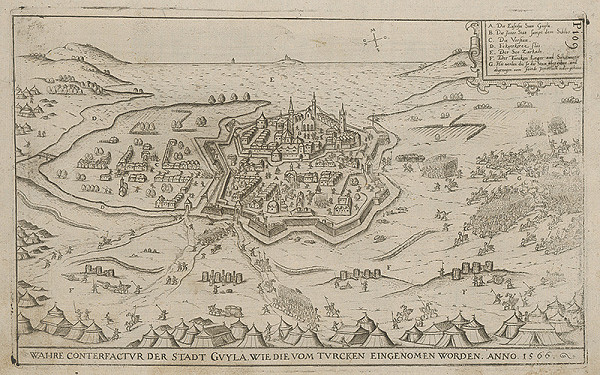 Paul Fürst, Lucas Schnitzer - Mesto Gyula dobyté Turkami roku 1566