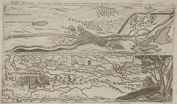 Paul Fürst, Lucas Schnitzer – Víťazstvo grófa Mikuláša von Serü nad Turkami roku 1663