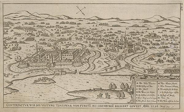 Paul Fürst, Lucas Schnitzer - Dobýjanie pevnosti Temesvár kniežaťom Sedmohradským roku 1596