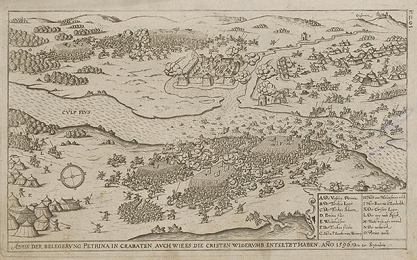 Paul Fürst, Lucas Schnitzer – Dobýjanie Petriny v Chorvátsku roku 1596