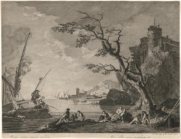 Francesco del Pedro, Claude-Joseph Vernet, Jean-Antoine Vernet – Rybárska idyla