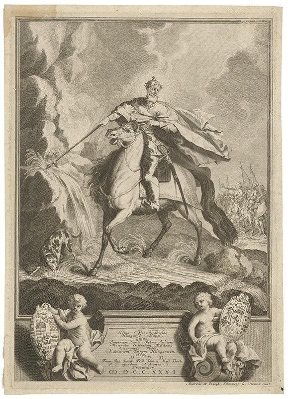 Andreas Schmutzer, Joseph Schmutzer – Kráľ Ladislav
